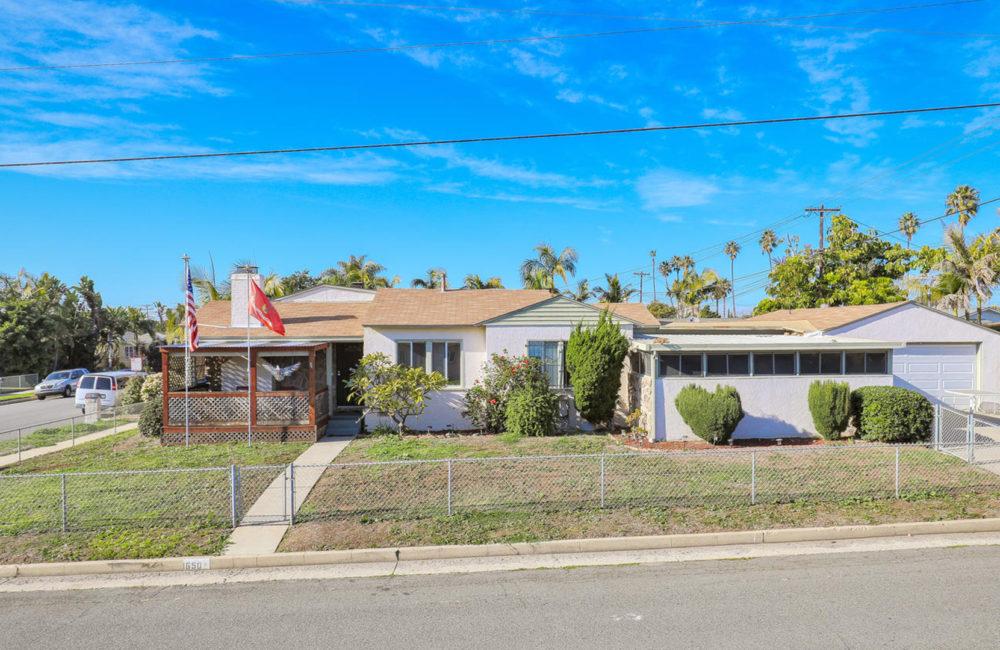 1650 Alvarado St. Oceanside, CA 92054